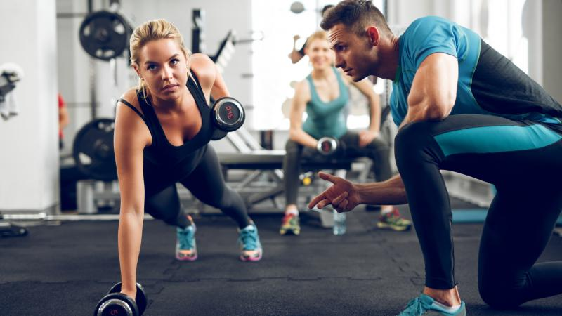 how to get a personal trainer