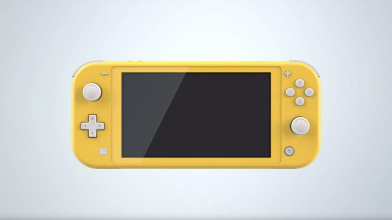 Harder Better Faster Liter Nintendo Switch Lite Page